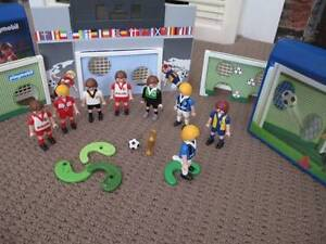 Playmobil; toys; soccer set Sandy Bay Hobart City Preview
