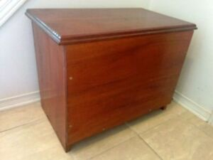 Solid Wood Storage Chest - Great Condition