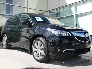 2016 Acura MDX AWD/BLIND SPOT/LANE ASSIST/DVD/HEATED AND COOLED