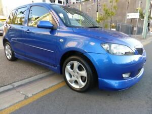 2003 Mazda 2 DY Genki Blue 5 Speed Manual Hatchback Southport Gold Coast City Preview