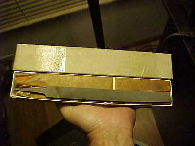 "10 New Old Stock Simonds International 8""  Flat Bastard Cut Metal Files In BOX"
