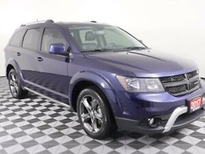 2017 Dodge Journey w/HEATED LEATHER AND WHEEL, SUNROOF, REAR VIE