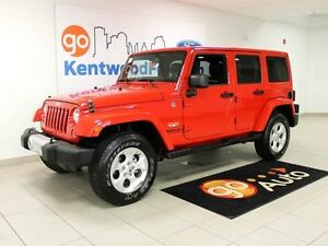 2014 Jeep Wrangler Unlimited LEATHER , NAV , HARDTOP , STICK!!