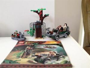 Lego Indiana Jones River Chase #7625