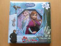 BRAND NEW DISNEY FROZEN puzzle book