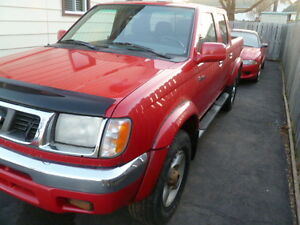 2000 Nissan Frontier Pickup Truck As Is