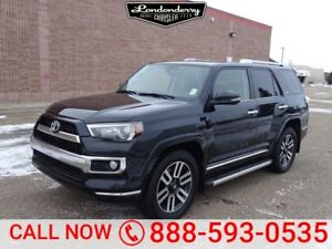 2015 Toyota 4Runner 4WD LIMITED Navigation (GPS),  Leather,  Hea