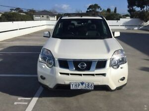 2011 Nissan X-Trail T31 Series IV TI White 1 Speed Constant Variable Wagon