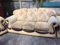 Sofa 3 + 1 + 1 suite - bought for £1000 a few years ago. Free collection