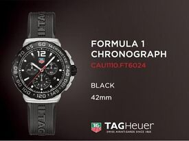 Tag Heuer Formula 1 (F1) Watch CAU1110 Brand New With Full Warranty & Service Letter