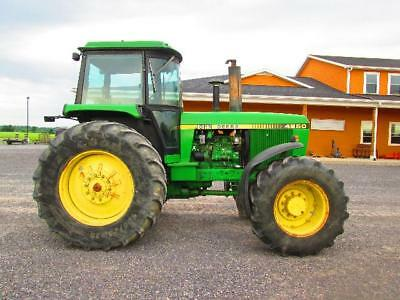 john deere 4250 tractor used 4x4 diesel cab 3pt hitch pto