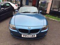 BMW Z4 2.5i CONVERTIBLE (blue) 2003