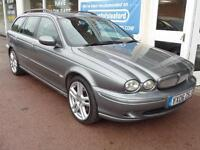 Jaguar X-TYPE 2.2D Estate 2006 Sport Full S/H 12 Stamps P/X Swap