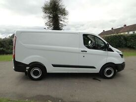 2016 FORD TRANSIT CUSTOM 290. AS NEW WITH 12000 MILES. PLY LINED AND MANY EXTRAS. DUE SOON.