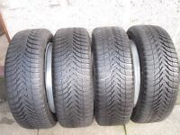 Winter Wheels & Tyres to suit Citreon, Peugeot and some Fords