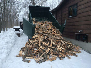 Firewood cut and split, Hardwood Full Bush Cord. Sharbot Lake