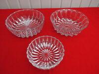 3 Bleikristall Schalen Glas Schüsseln zus. 8,- Vintage Retro Schleswig-Holstein - Flensburg Vorschau