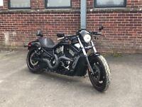 Harley Davidson v rod motorbike 2007