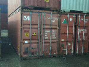 Sea Containers 20' and 40' used for sale. Cargo Containers