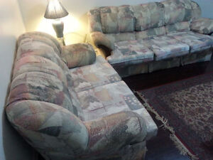 Moving sale: 2-piece couch set