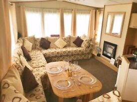 Static caravan perfect for first time buyers at 5* park in Lancashire
