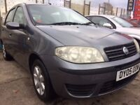2005 FIAT PUNTO 1.2 ~ ONLY 91K MILES ~ MOT MAY 2018 ~ PART EX WELCOME ~ BARGAIN PRICE ONLY £550