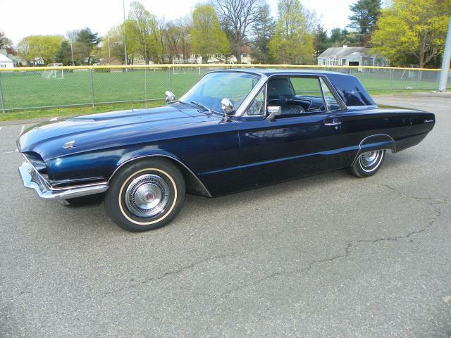 Ford : Thunderbird Blue 390 CI. 4BBL V8 - MATCHING NUMBERS
