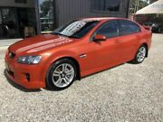 2007 Holden Commodore VE SV6 Orange 5 Speed Automatic Sedan Arundel Gold Coast City Preview