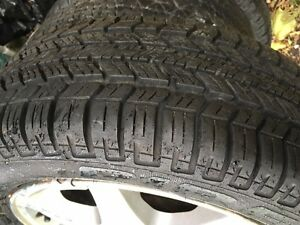 Ford Wheels and winter tires 185/60/R14 West Island Greater Montréal image 2