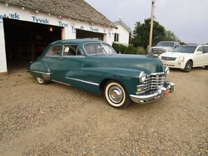 46 caddy. runs and drives great