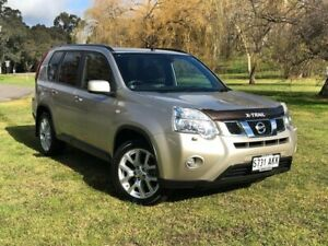 2010 Nissan X-Trail T31 Series III TL Gold 6 Speed Sports Automatic Wagon Bridgewater Adelaide Hills Preview