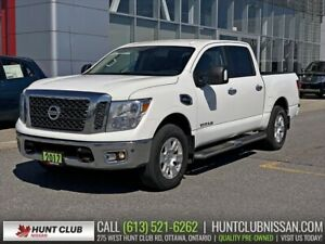 2017 Nissan Titan SV | Navi, Htd Seats, Rear Camera
