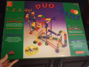new duo rally , 232 pcs,game,marble run,7914
