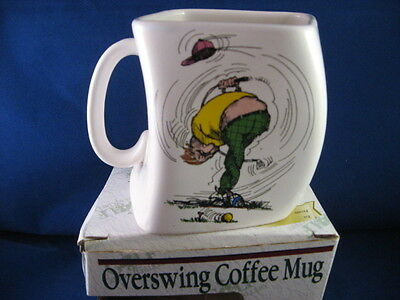 Golf Mug Overswing Coffee Mug for the Golfer