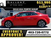 2010 KIA FORTE KOUP 2.4L $109 bi-weekly APPLY NOW DRIVE NOW
