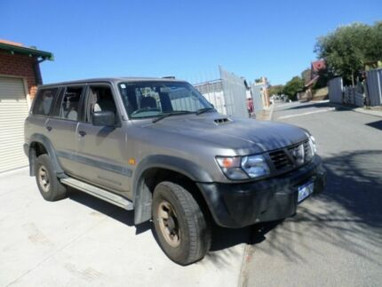 1998 Nissan Patrol GU ST Grey 5 Speed Manual Wagon Mount Lawley Stirling Area Preview