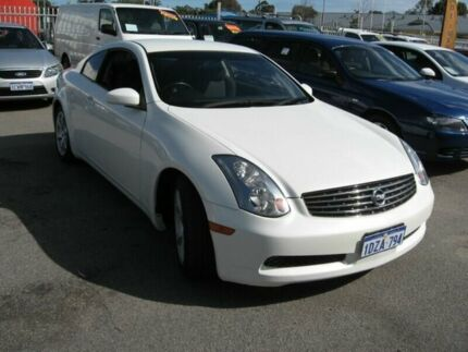 2003 Nissan Skyline 350GT White 4 Speed Automatic Coupe Embleton Bayswater Area Preview