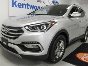 2017 Hyundai Santa Fe Sport Sport AWD with heated seats and stee