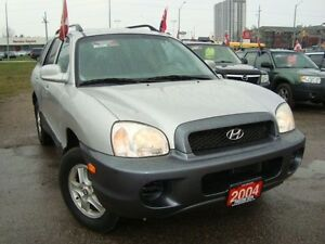 2004 Hyundai Santa Fe GL Accident Free Rust Free Only 114km