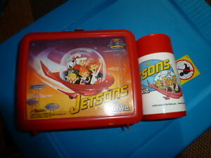JETSONS LUNCH BOX AND THERMOS