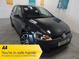2013 13 VOLKSWAGEN GOLF 1.6 SE TDI BLUEMOTION TECHNOLOGY DSG 5D AUTO 103 BHP DIE