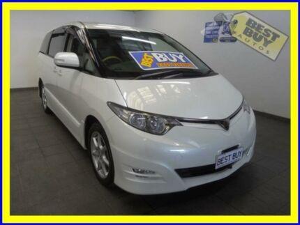 2008 Toyota Estima AERAS Pearl White Cabramatta Fairfield Area Preview