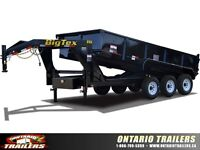 Big Tex 21GX Triple Axle Low Profile Extra Wide Dump