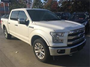 2017 FORD F-150 LARIAT crew cab FULLY loaded white just 16.000 k