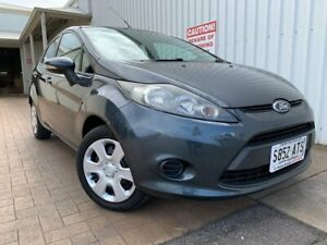 2012 Ford Fiesta WT CL Grey 5 Speed Manual Hatchback Port Adelaide Port Adelaide Area Preview