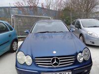 2002(52reg) Mercedes CLK 270CDi Auto £995