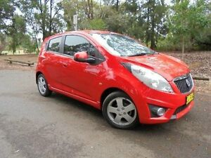 2010 Holden Barina Spark MJ CDX Red 5 Speed Manual Hatchback Belconnen Belconnen Area Preview
