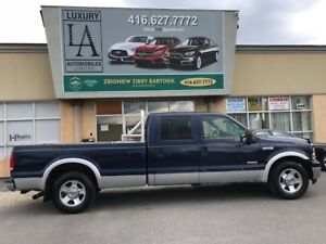 2005 FORD F350 LARIAT V8 DIESEL CREW 8F BOX / FULLY CERTIFIED