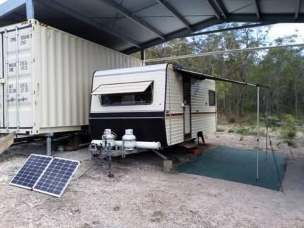 1988 Telstar Caravan - 17ft Hardtop - Sleeps 4