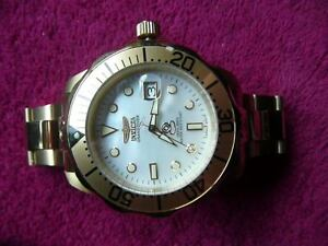 GOLD IN COLOUR, INVICTA, WITH PEARL FACE Edmonton Edmonton Area image 1